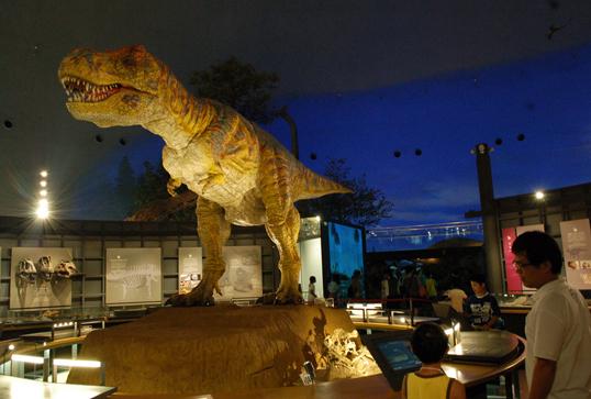 福井 恐竜 博物館 ツアー