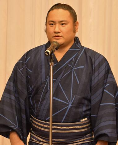 イケメンなお相撲さんの琴恵光