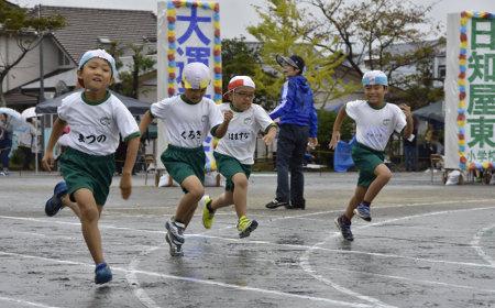 日知屋東小学校の運動会